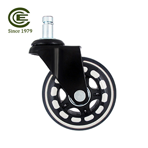 3 Inch Stem Furniture PU Caster Wheel.jpg