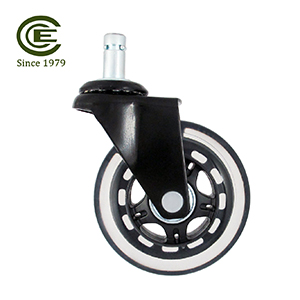 3 Inch Silent Smooth PU Caster Wheel.jpg