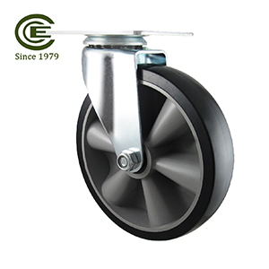 5 Inch Top Plate Rubber TPR Caster Wheel.jpg